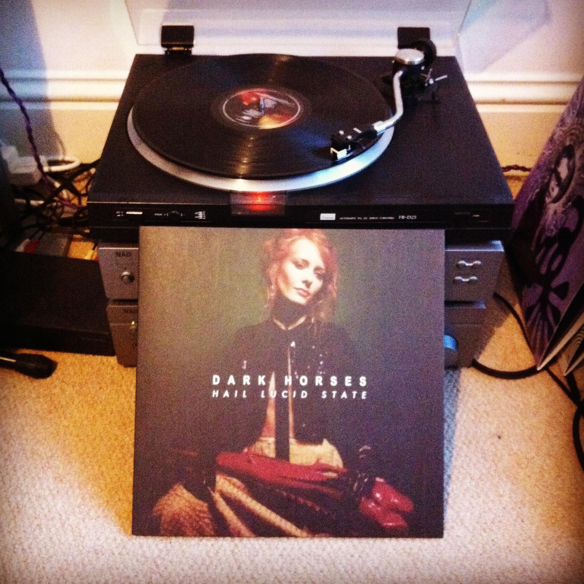 Hail Lucid State (vinyl) - Dark Horses