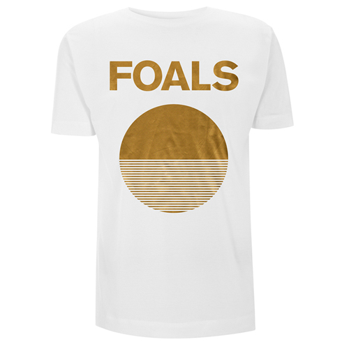 Gold Moon (White Tee) - Foals