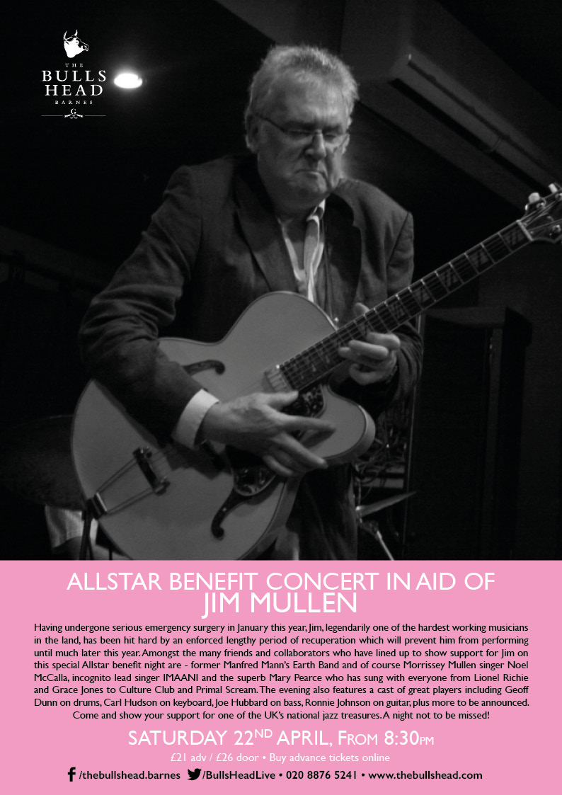 All-star Benefits Concert in Aid of Jim Mullen