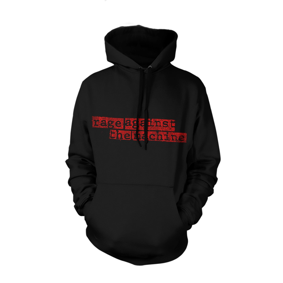 Large Nuns Black Pullover Hood - Rage Against the Machine