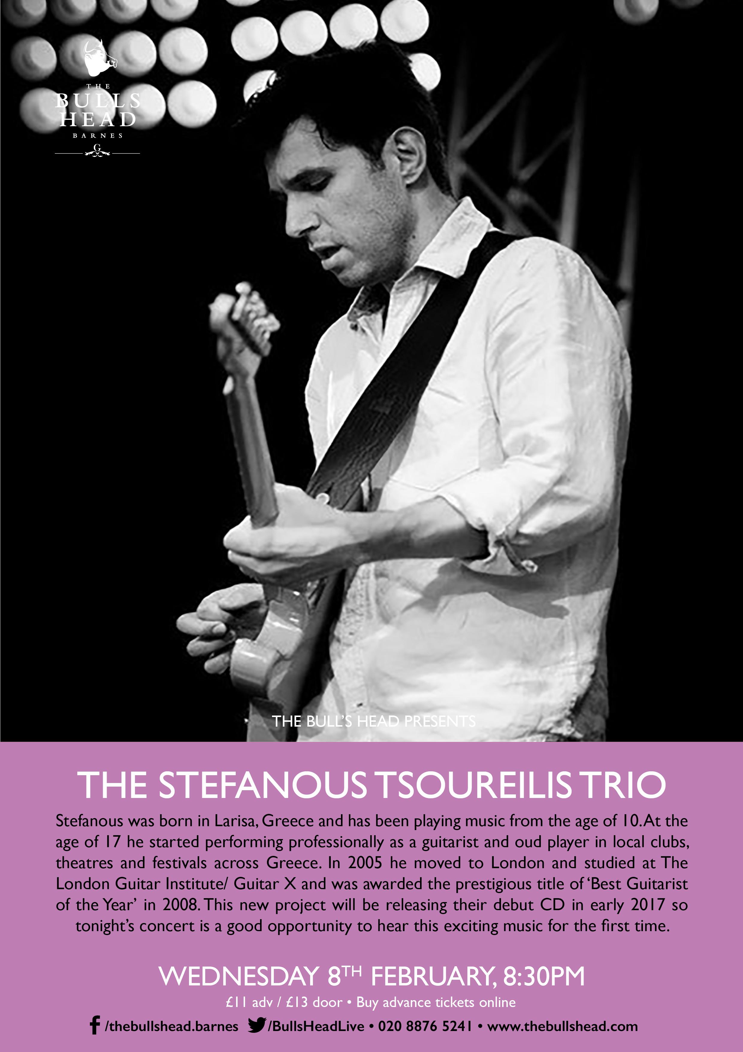The Stefanous Tsoureilis Trio
