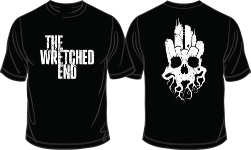 The Wretched End -  City Scape T-Shirt - The Wretched End