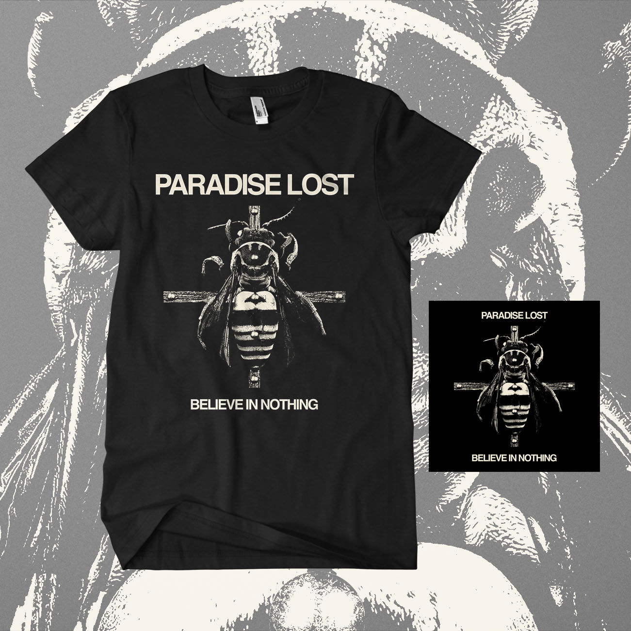 Paradise Lost - 'Believe in Nothing' Digipack & T-Shirt Bundle - Paradise Lost