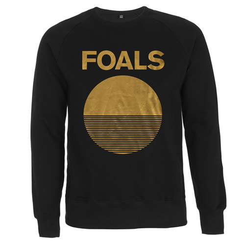 Gold Moon (Black Sweatshirt) - Foals