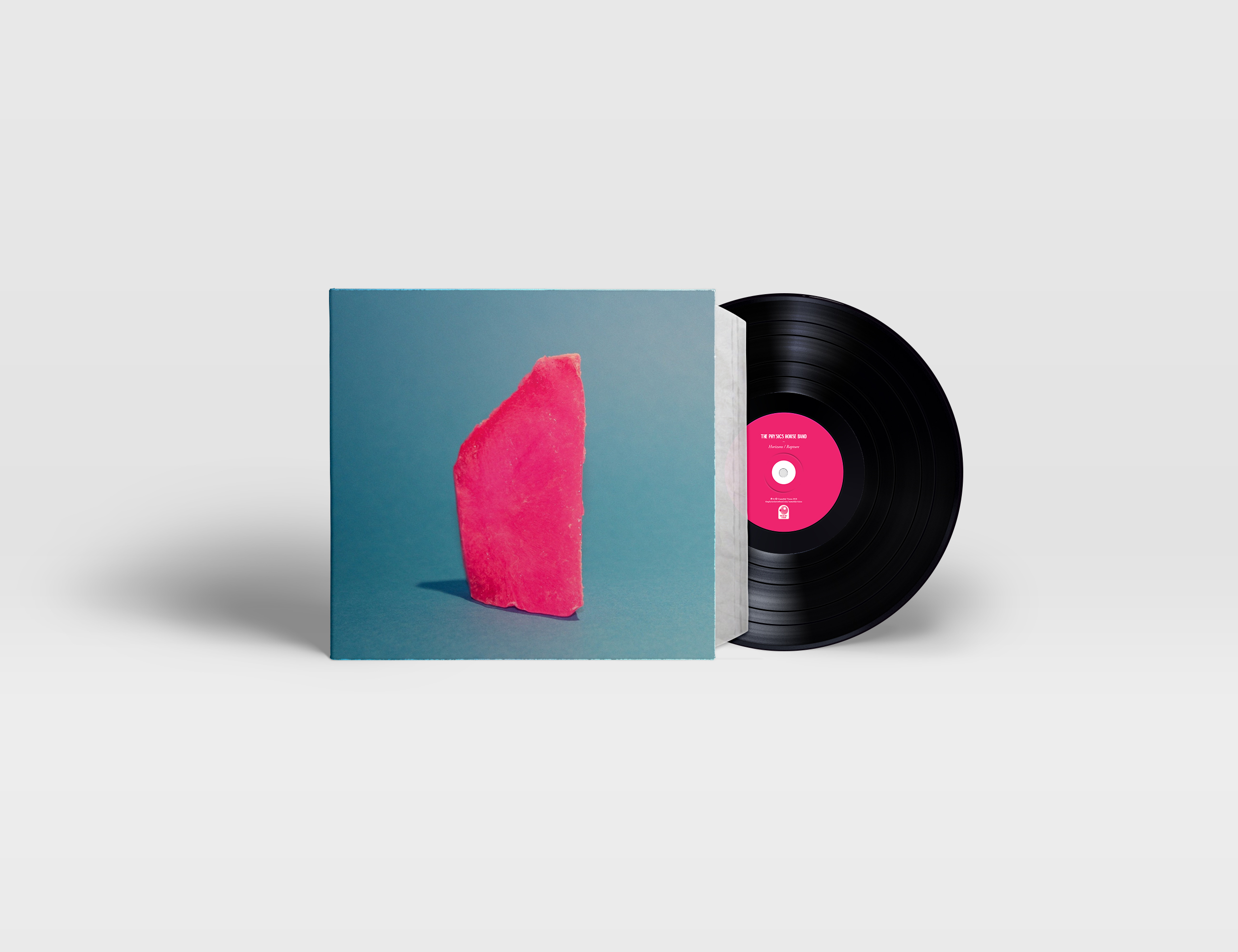 The Physics House Band - 'Horizons / Rapture' (Black Vinyl) - Unearthly Vision