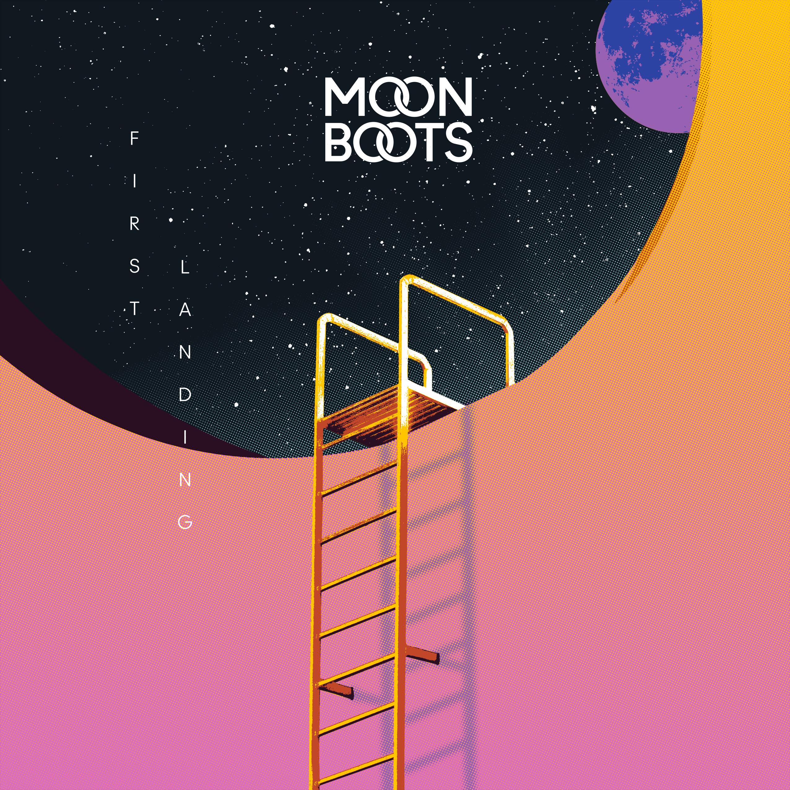 First Landing Screen Print - Moon Boots