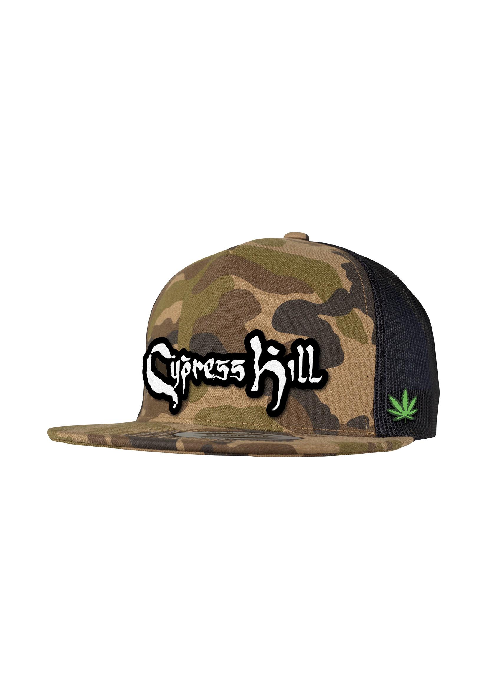 Logo & Leaf - Camo Baseball Cap - Cypress Hill
