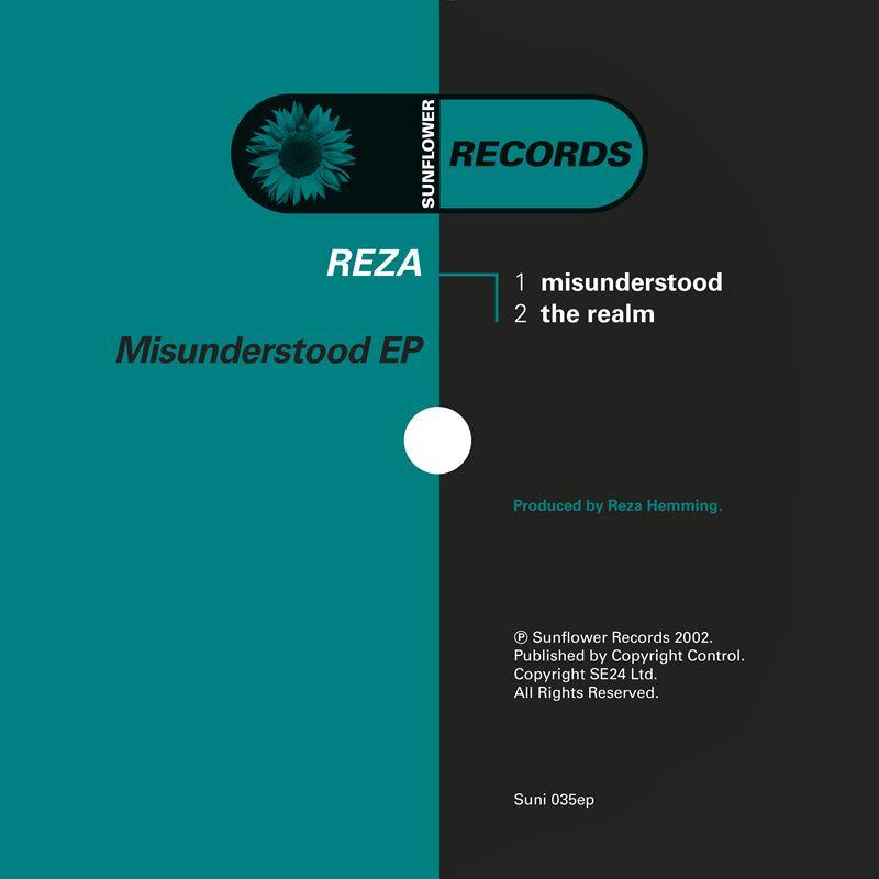 Reza - Misunderstood [SUNI035] - Sunflower Records