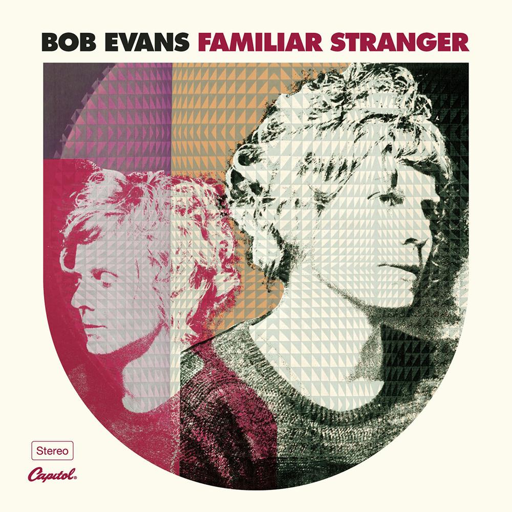 Familiar Stranger - CD - Bob Evans