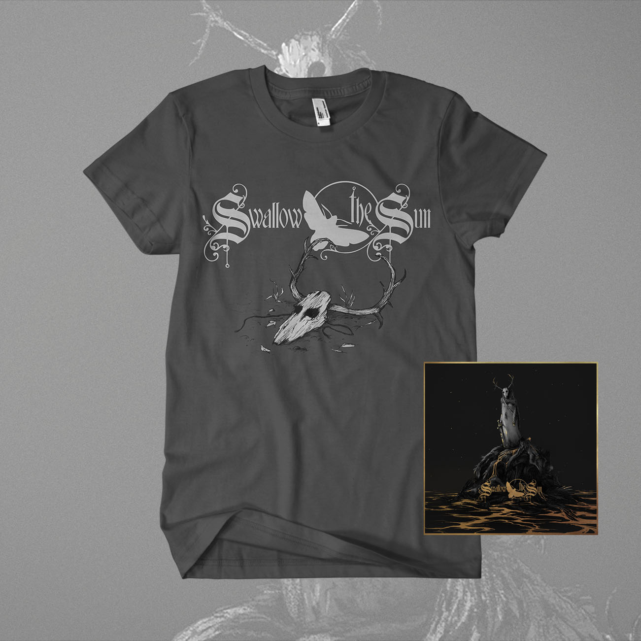Swallow The Sun  - 'When A Shadow Is Forced Into The Light' Ltd Digi CD + T-Shirt Bundle - Swallow The Sun