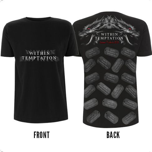 Dog Tags Tee - Within Temptation
