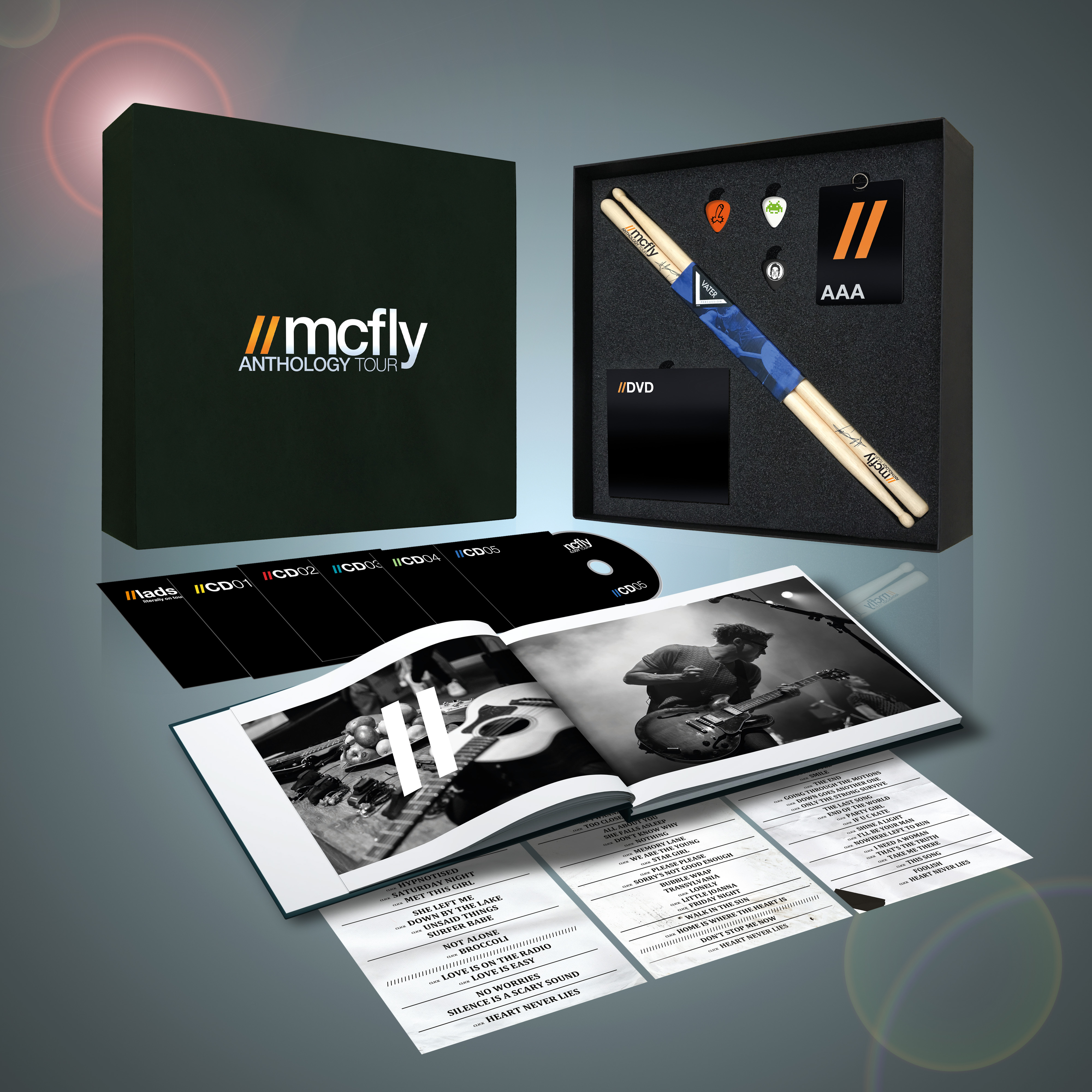 Anthology Tour Deluxe Boxset (Limited Edition) - McFly