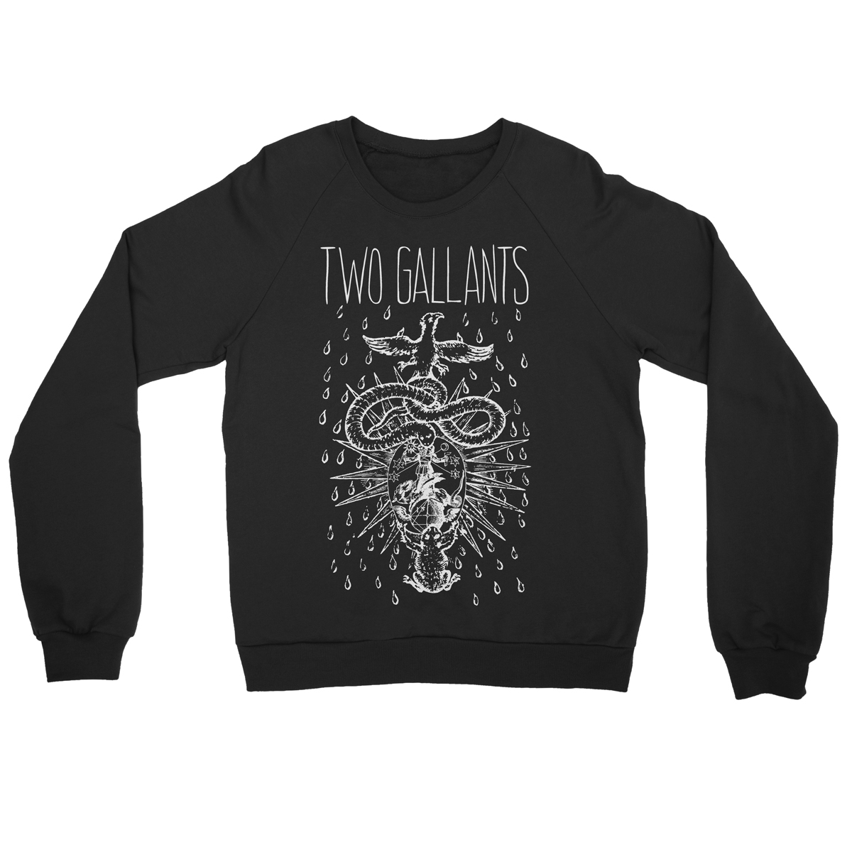 Bird Snake Sweatshirt - Two Gallants