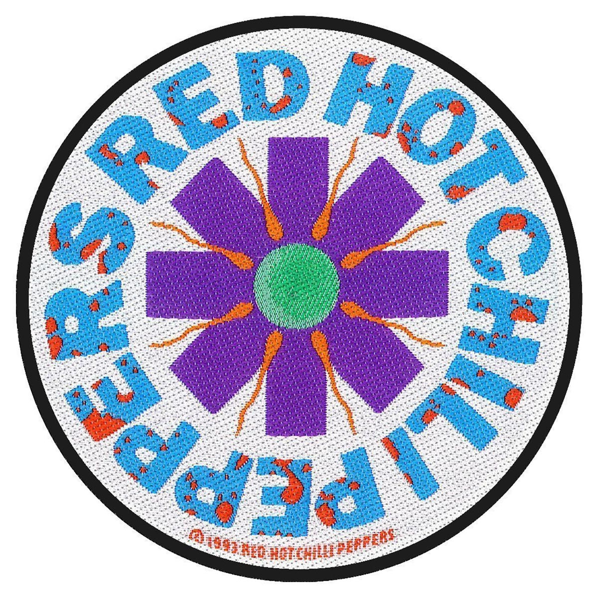 Sperm – Woven Patch - Red Hot Chili Peppers