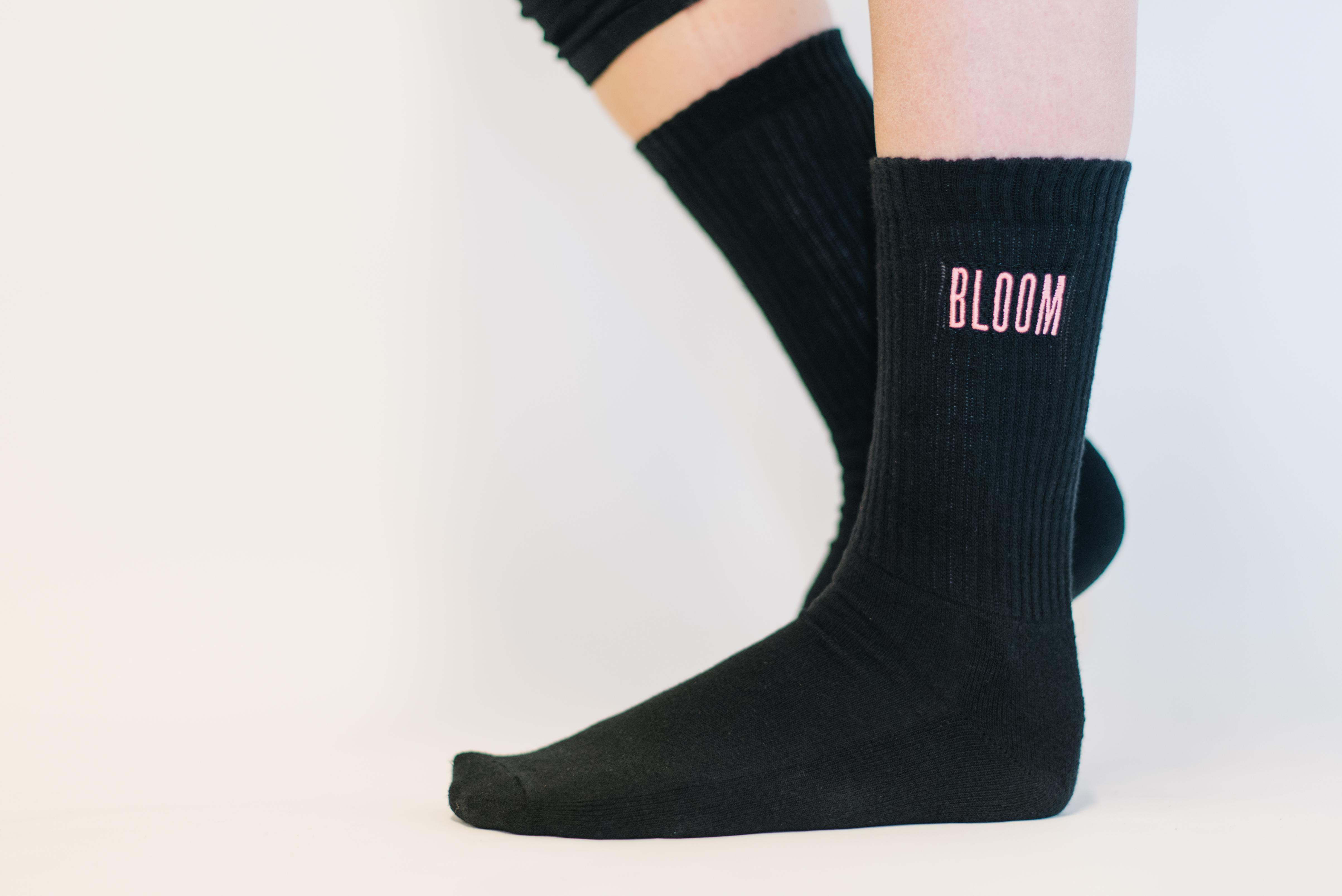 Bloom Black Socks - Lewis Capaldi