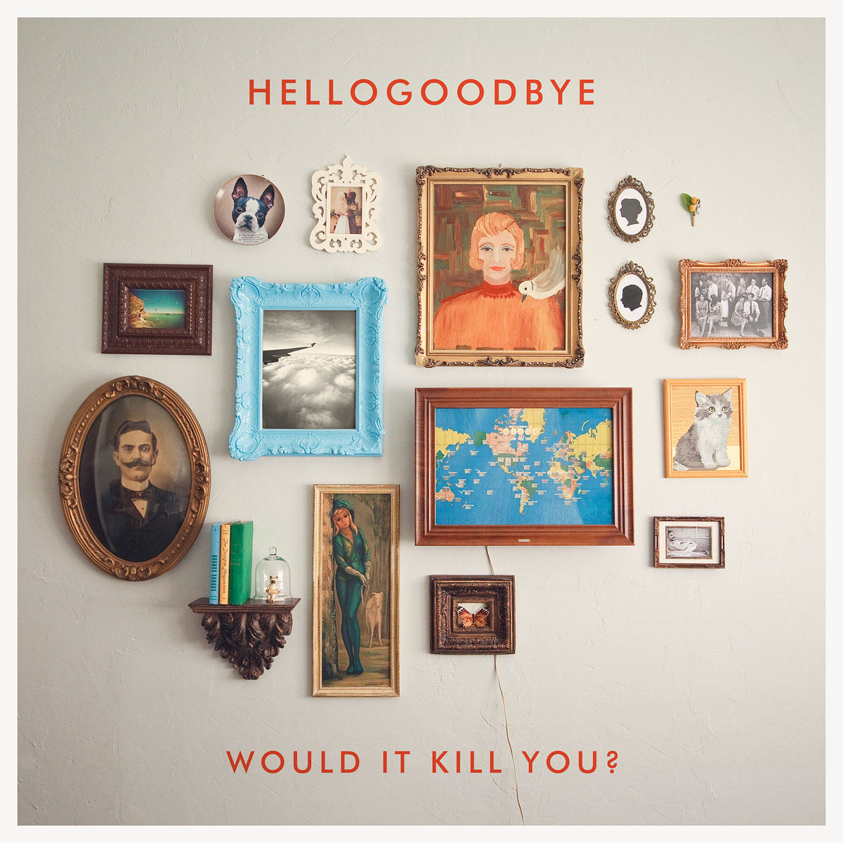 Would It Kill You? - Hellogoodbye (CD Album) - LILYSTARS RECORDS