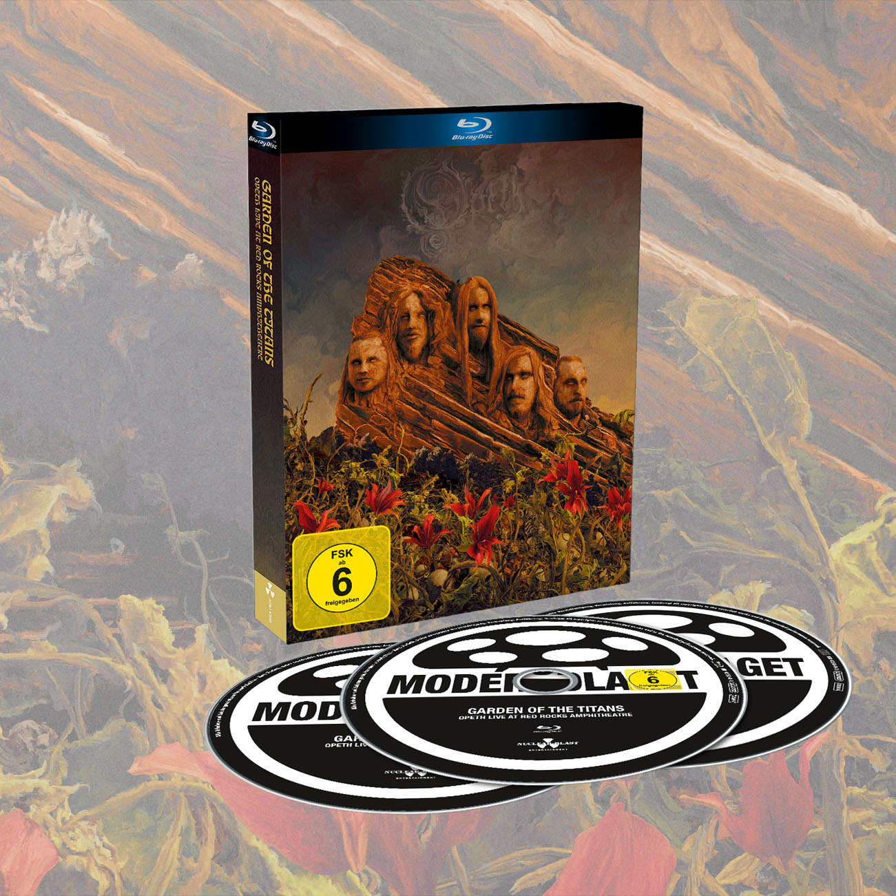 Opeth - 'Garden Of The Titans (Opeth Live at Red Rocks)' Bluray+2CD - Opeth