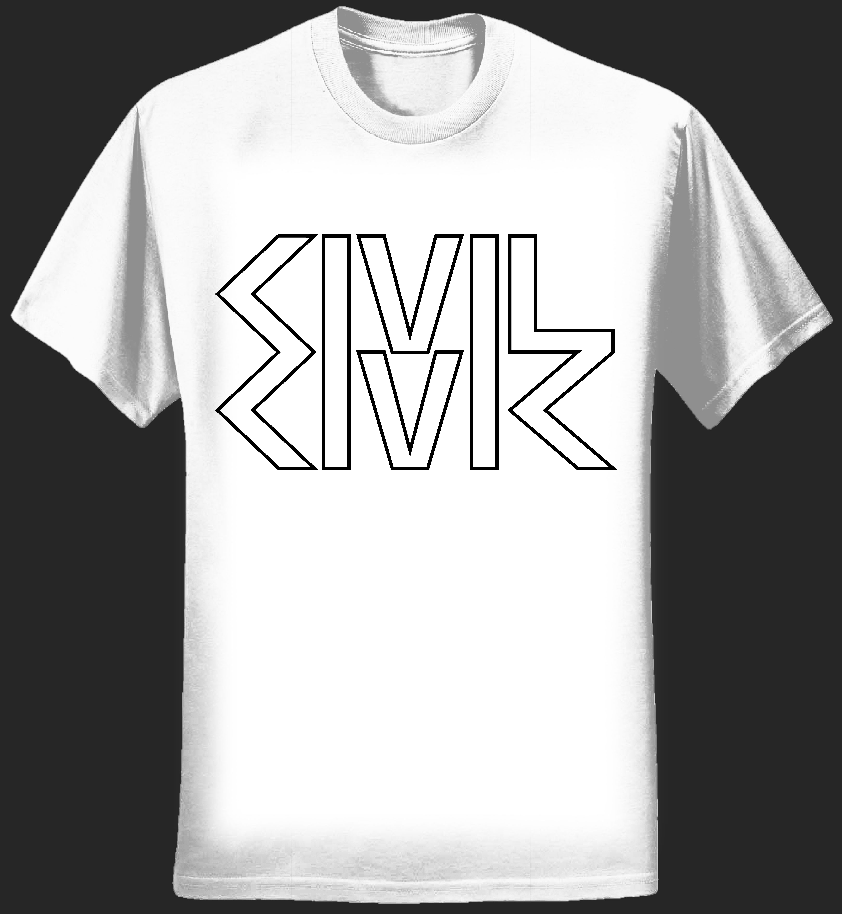 White Civilian t-shirt - CIVIL CIVIC