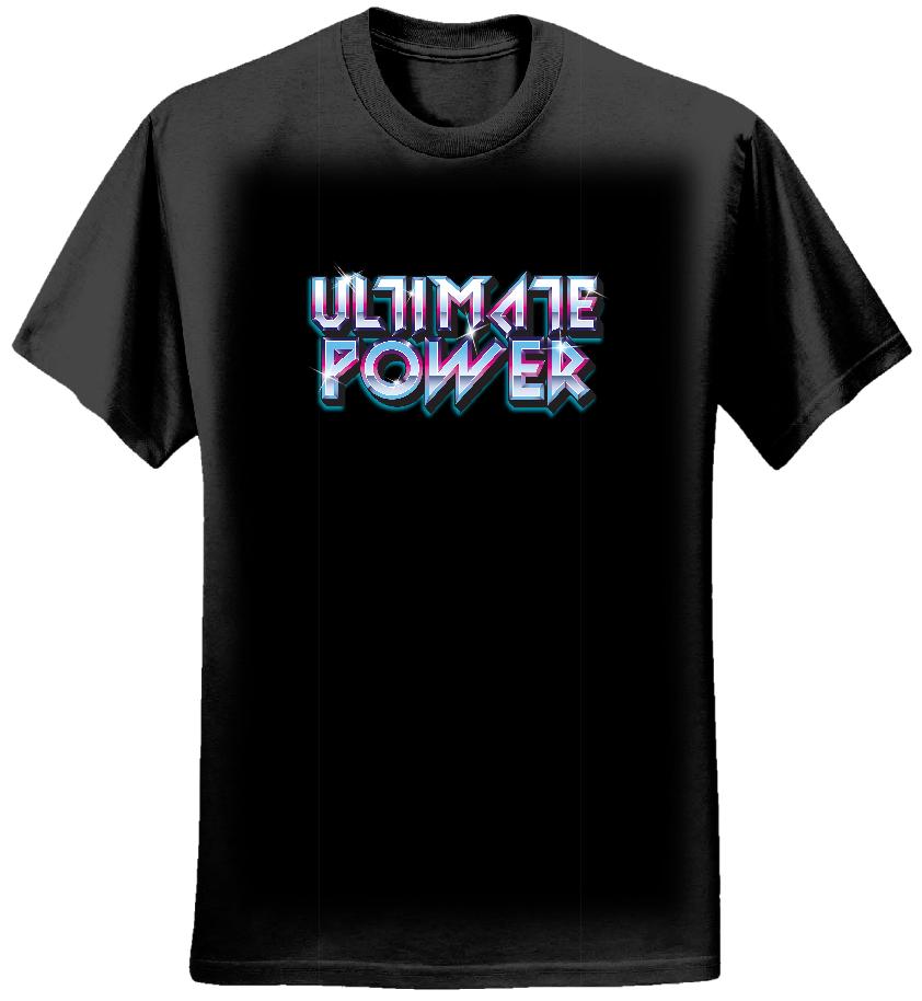 Ultimate Power Black Tee 2 - Mens - Ultimate Power