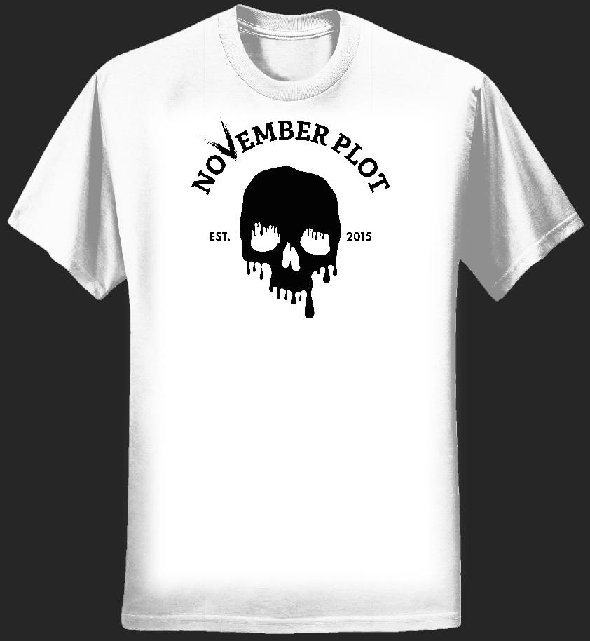 Dripping Skull Shirt – Womens - NOVEMBER PLOT