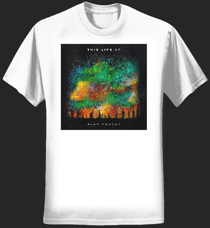 This Life EP Tshirt - Women's - White - Alex Hedley