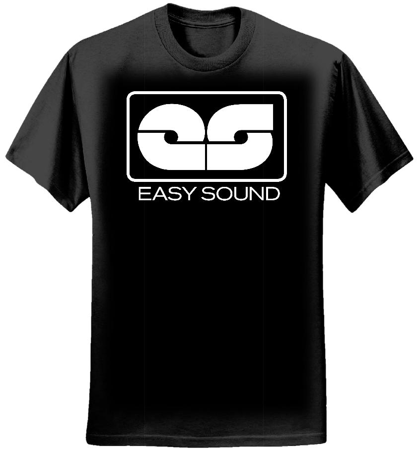 Easy Sound Shirt - Black - Easy Sound Recording Company
