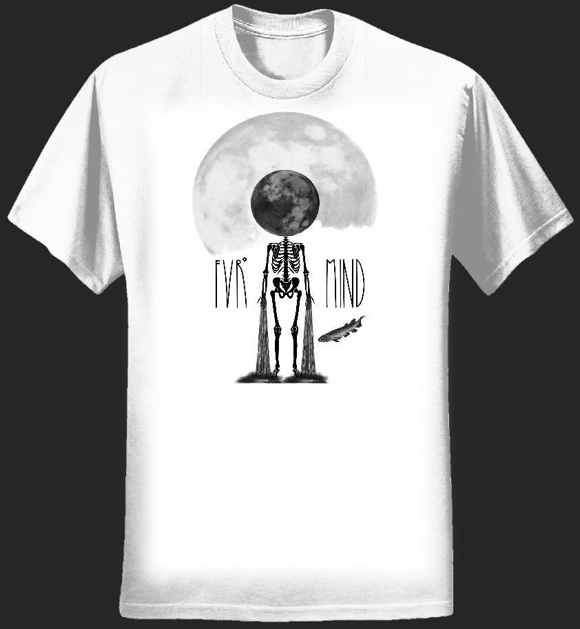 FVRmoon WHITE T-shirt - FVRmind